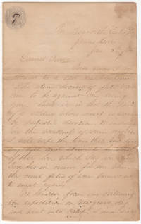 A love-letter from a white officer assigned to the all-African-American 25th Corps as it sailed to attack Fort Fisher in North Carolina for the second time