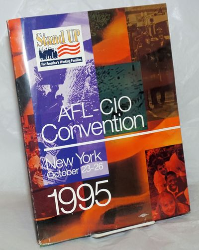 New York: AFL-CIO, 1995. Cardboard Covers. Double cardstock folder with facing pockets, 11x9 inches ...