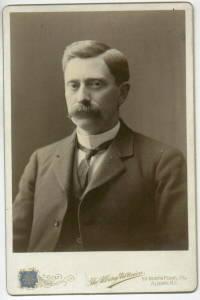 E. KELLEY NEW YORK STATE REPRESENTATIVE 1899 CABINET PHOTO
