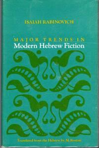Major Trends in Modern Hebrew Fiction