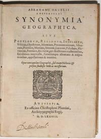 Synonymia Geographica, Sive Popularum, Regionum, Insularum