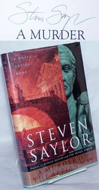 image of A Murder on the Appian Way a novel of ancient Rome [signed]