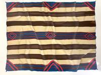 Classic Navajo Third Phase Chief Blanket Numbered Serigraph