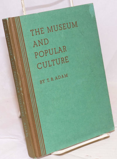 New York: American Association for Adult Education, 1939. Hardcover. ix, 179p., printed on laid-line...