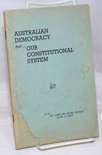 Australian Democracy and Our Consititutional System