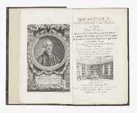 Bibliothecae Samuelis S.R.I. Com. Teleki de Szék.  Pars Prima [-Tertia]