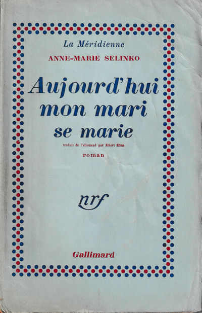 Paris: Gallimard, 1949. Paperback. Good. 245 pp. Creases, tanning, and edge tears to the spine, tann...
