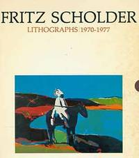 Fritz Scholder: Lithographs 1970-1977. October 25 -- December 5, 1977. [Exhibition brochure].
