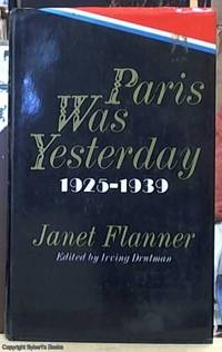 PARIS WAS YESTERDAY 1925-1939