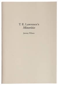 T.E. Lawrence's Minorities an editor's postscipt
