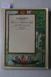 Sale 1 December 1987: Western Manuscripts and Miniatures.