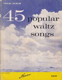 45 Popular Waltz Songs by Hansen - Paperback - from Chisholm Trail Bookstore (SKU: 19183)
