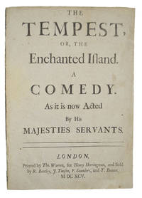 Tempest by  William SHAKESPEARE - Signed - 1695 - from Heritage Book Shop, LLC and Biblio.com
