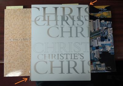 Hong Kong: Christie's, 2008. Softcover. Small quarto; pp 364+420; VG/paperback; white spines with bl...