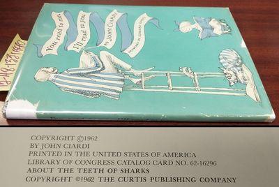 Philadelphia and New York: J.B. Lippincott Company, 1962. Hardcover. Thin Octavo; pp 64; VG/G-; ligh...
