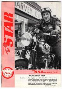 The Star: The Official Journal of the BSA Owners' Club: November 1994