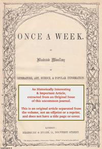 Tap-Dressing, or Well-Dressing. A rare original article from the Once A Week periodical, 1860