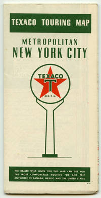 Texaco Touring Map.  Metropolitan New York City.