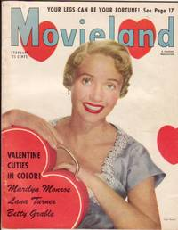 Movieland - February 1953 - Full Color Pin Ups of Marilyn Monroe, Lana Turner, Betty Grable / with Jane Powell on Cover,