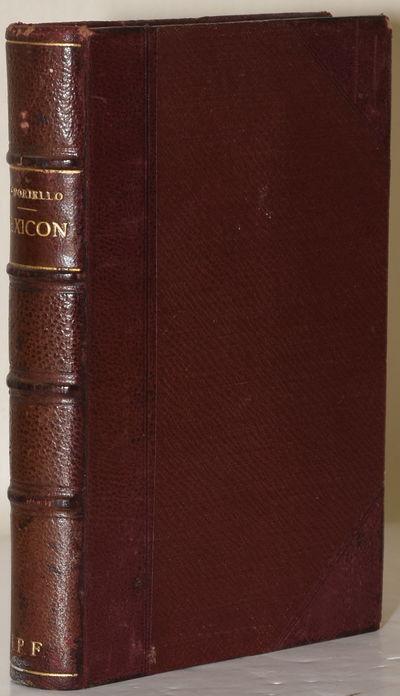 Neapoli: Bibliothecae Catholicae Scriptorvm, 1906. Full Leather. Very Good binding. An encyclopedia ...