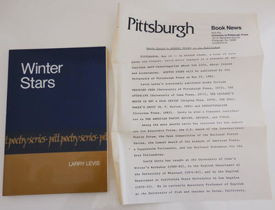 Pittsburg: University of Pittsburg Press, 1985. First Edition. Paperback. Very Good/none. First edit...