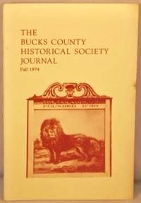 image of Bucks County Historical Society Journal, Fall 1974.