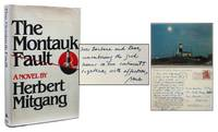 THE  MONTAUK FAULT by Herbert Mitgang - Signed First Edition - 1981 - from Astro Trader Books (SKU: 1000-426)