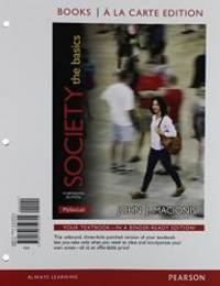image of Society: The Basics, Books a la Carte Edition & Sociological Classics: A Prentice Hall Pocket Reader &  NEW MySocLab with Pearson eText -- Valuepack Access Card Package