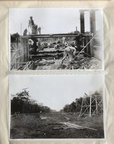 , 1938. Very good.. 97 silver gelatin photographs measuring 6.75 x 4.5 and 5.5 x 3.5 inches. Oblong ...