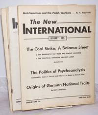 The New International; a monthly organ of revolutionary Marxism.  Volume 13, January 1947 to December 1947