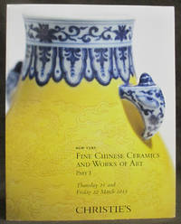 Fine Chinese Ceramics and Works of Art, Part I [Thursday, 21 and Friday 22 March, 2013]