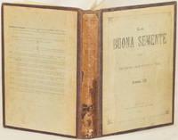 LA BUONA SEMENTE ANNO IX - N. 1 MONEGLIA 18 NOVEMBRE 1902