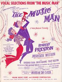 "Vocal Selections from ""The Music Man"" by  Meredith Willson - Paperback - from Chisholm Trail Bookstore (SKU: 19170)"