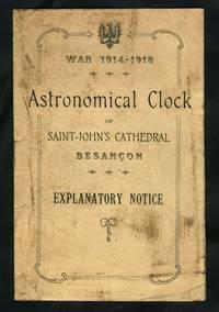 Astronomical clock of Saint John's Cathedral Besancon.  Pamphlet