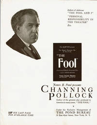 image of JAMES B. POND PRESENTS CHANNING POLLOCK, Author of the greatest play produced in America in many years,