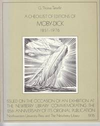 A Checklist of Edtions of Moby Dick, 1851-1976