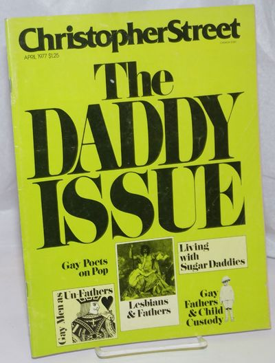 New York: That New Magazine, 1977. Magazine. 64p., 8.5x11 inches, articles, reviews, news, photos, i...