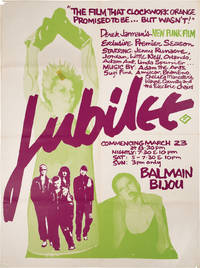 image of Jubilee (Original poster for a screening of the 1978 film)