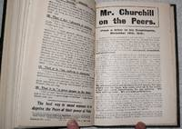 Pamphlets and Leaflets for 1910 being the Publications for the Year of the Liberal Publication Department.