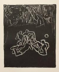 Le Paradis à l'ombre des épées, première olympique. Lithographies de Mac Avoy.