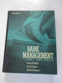 Bank Management: Text and Cases