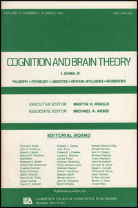 Cognition and Brain Theory (Vol 4, No. 3, Summer 1981)