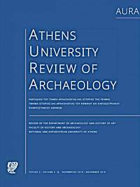 image of AURA - Athens University Review of Archaeology, VOL. 2 (2019)