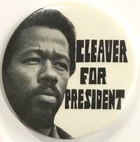 Cleaver for President (pinback button)