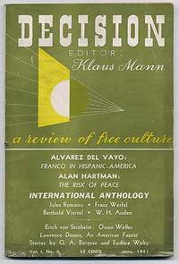 Decision, A Review of Free Culture: Volume 1, Number 6, June 1941