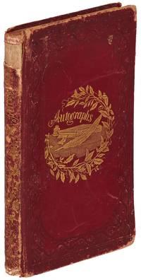 1860s Appleton Academy New Hampshire Autograph Album