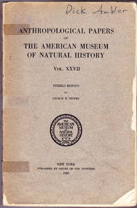 Pueblo Bonito (Anthropological Papers of the American Museum of Natural History, Volume XXVII)