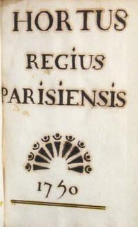 Hortus Regius Parisiensis 1750