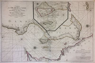 Amsterdam: Pierre Mortier, 1693. very good. Sea chart. Engraving with original hand outline color. I...