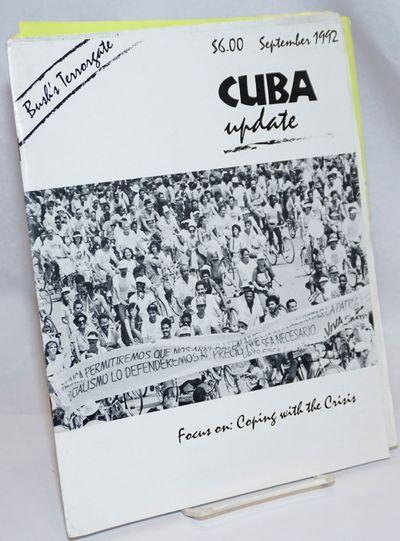 New York: Center for Cuban Studies, 1992. Magazine. 62p., stapled wraps, 8.5 x 11 inches, illus., wr...